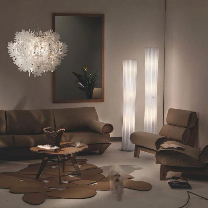 eames chair white unfinished rocking bach floor lamp | slamp ambientedirect.com