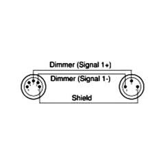 5 Pin Dmx Wiring Diagram Dog Skeleton Labeled Ac Dmxt 3m5f 3pin Male 5pin Female Adapter