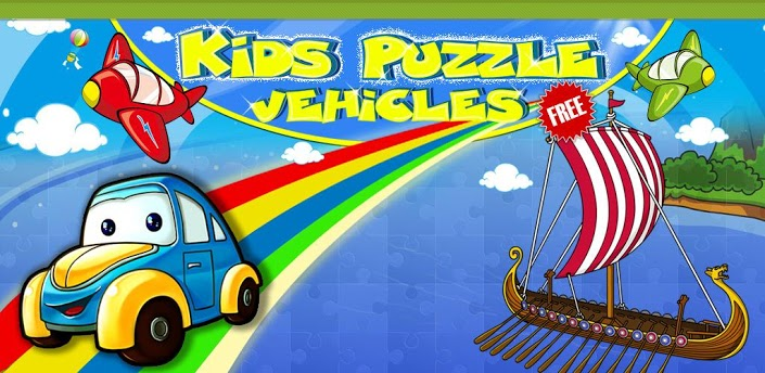 kids puzzle vehicles android
