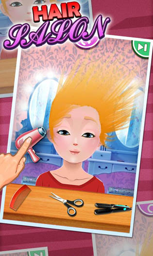 Hair Salon  Kids Games  Android Games 365  Free Android Games Download