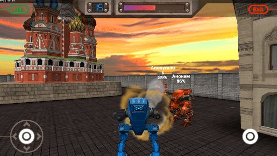 CONFLICT ROBOTS MULTIPLAYER » Android Games 365