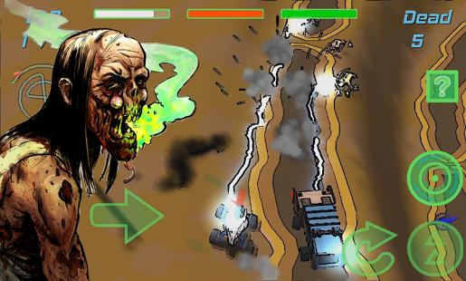 Zombie Rider: Run Smashing Car