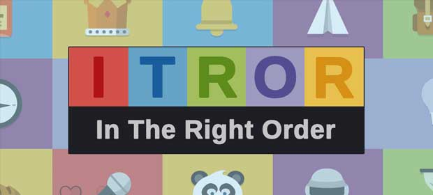 Itror - In The Right Order