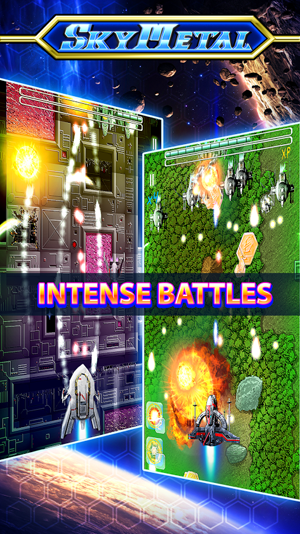 SkyMetal Space Shooting Battle