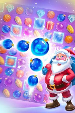 Merry Christmas: match-3