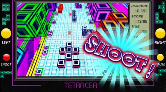 Brick game TET RACER Block Car