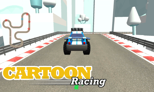 MES Cartoon Race Car Games