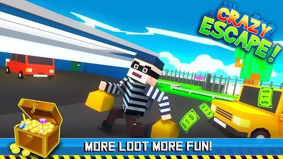 Crazy Escape - Run & Chase