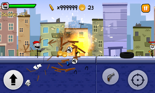 Stickman Fighter -Troll runner