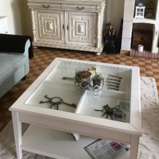 ikea glass top large coffee table