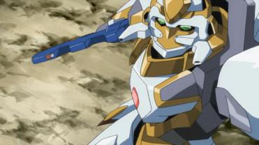 Lancelot, pilotado por Suzaku