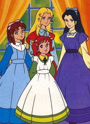 Les 4 Filles Du Docteur March Dessin Animé : filles, docteur, march, dessin, animé, Filles, Docteur, March