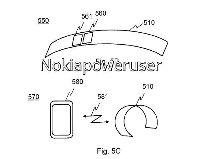 Nokia patentuje koncept smartbanda dopasowującego się do