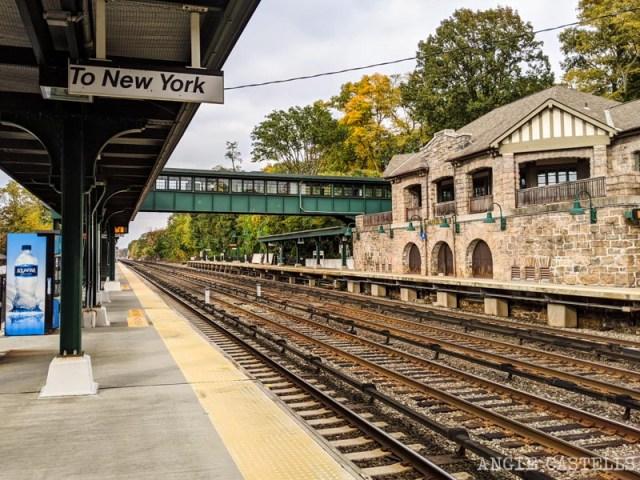 Como llegar a Sleepy Hollow desde Nueva York en tren - Estacion de Philipse Manor