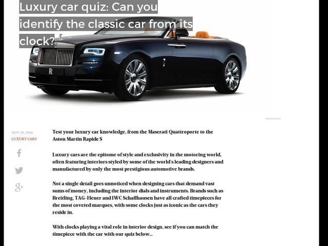 Luxury Cars  Anygatorcom