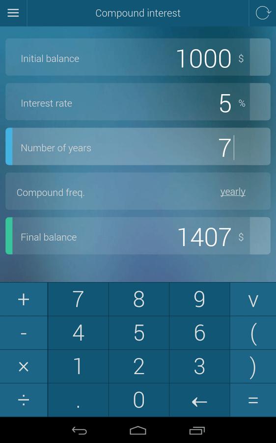 percentage calculator apk thing