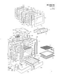 Avanti DE2402SC Elba Series Electric Freestanding Range