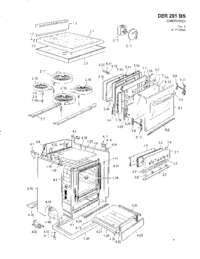 Avanti DER201BS 20 Inch Elite Series Electric Freestanding