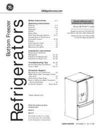 GE Profile PYE23KSDSS French Door Refrigerator