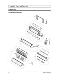 Samsung MH035FNCA Mini Split Air Conditioner Cooling Area