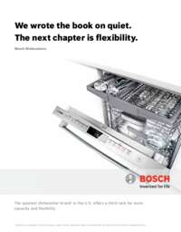 Bosch SHP68TL5UC 24 Inch 800 Series Built In Fully