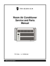 Friedrich CP24F30 Window / Wall Air Conditioner Cooling