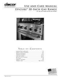 Dacor ER30GISCHLPH 30 Inch Renaissance Series Gas