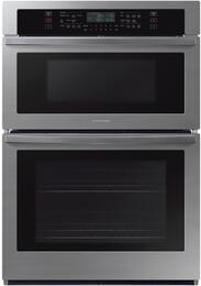 samsung nq70t5511ds 30 inch stainless steel electric double wall oven microwave combo