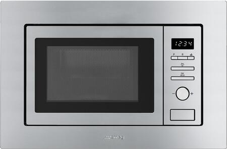 smeg fmiu020x 24 inch built in microwave oven