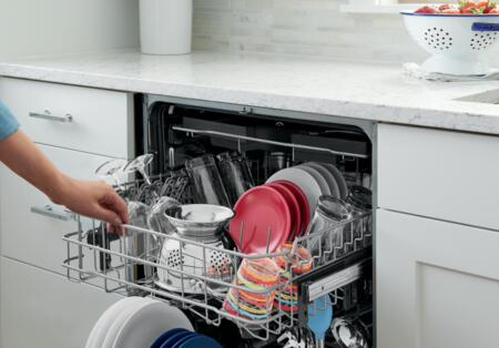 frigidaire fgid2479sf gallery series 24 inch built in fully integrated dishwasher