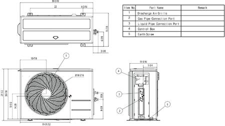 LG LA120HSV4 Energy Star Art Cool Single Zone Inverter