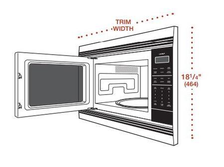 cu ft capacity countertop microwave