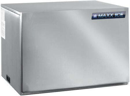 This Modular Ice Maker by Maxx Ice can produce up to 915 pounds of ice per day. The unit features a durable stainless steel exterior. air cooled compressor and automatic cleaning cycle.