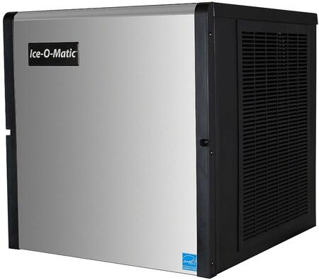 This grande cube maker by Ice-O-Matic is able to produce up to 875 lbs of ice per day It also constructed from corrosion-resistant stainless steel and fingerprint-proof plastic