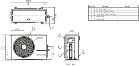 LG LA120HVP Art Cool Gallery Single Zone Inverter Mini