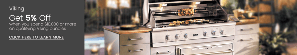viking outdoor kitchen cabinet brands get 5 back on appliances connection when you spend over 10 000 qualifying