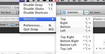 iSnap một tiện ích miễn phí sắp xếp các cửa sổ tương tự như trên Windows 7