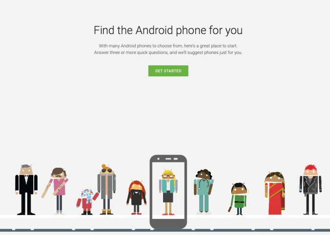 Android-phone-select