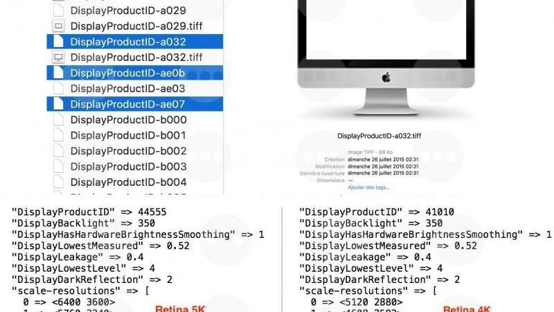 Hé lộ thông tin iMac 21.5″ với màn hình 4K Retina trong El Capitan beta 6