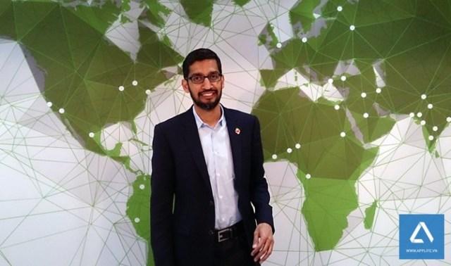 """""""Sundar Pichai sẽ là một CEO vĩ đại"""", Eric Schmidt, cựu Chủ tịch điều hành của Google nhận định."""