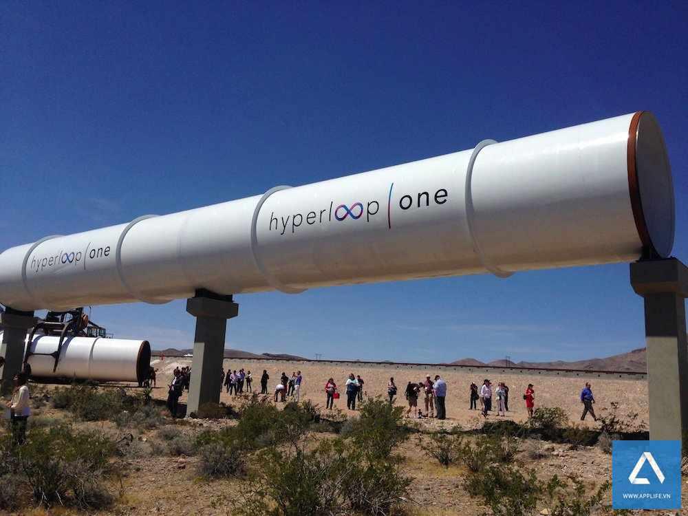 Hệ thống lực đẩy Hyperloop One
