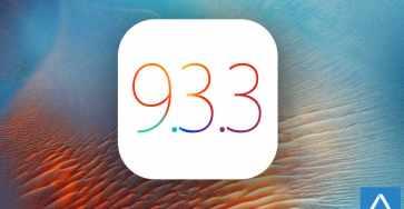 iOS 9.3.3 logo