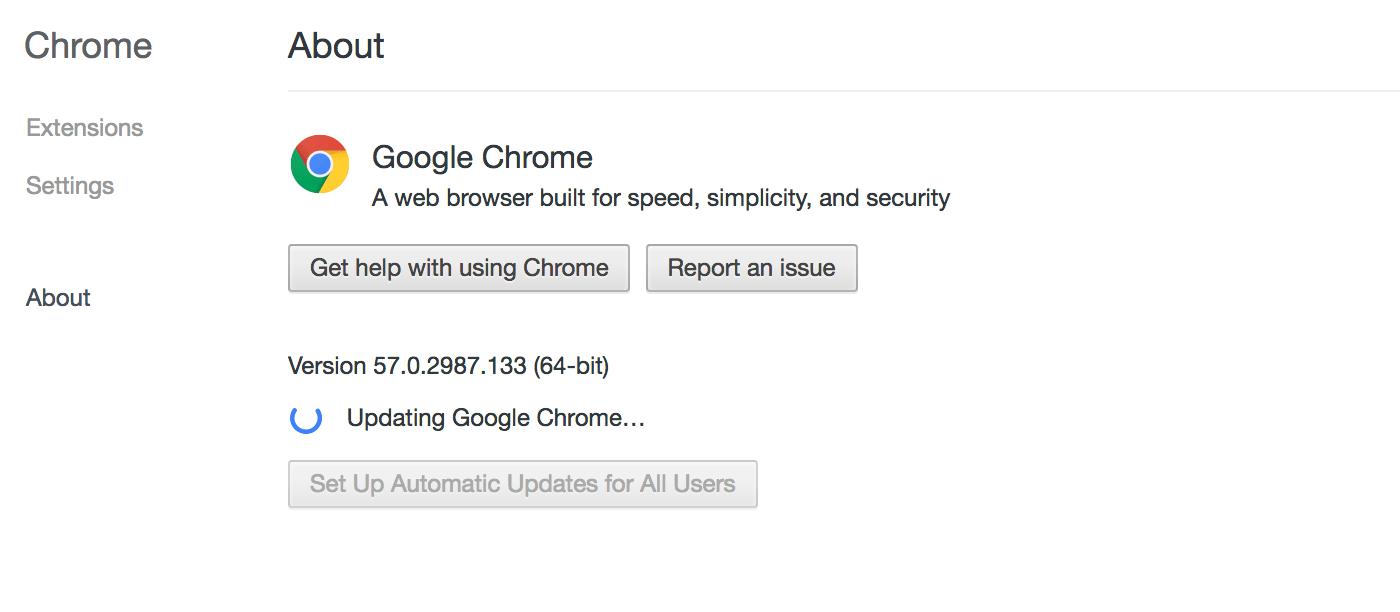 Google phát hành Chrome 58 tối ưu tốc độ, khắc phục lỗi chưa hỗ trợ Touch Bar