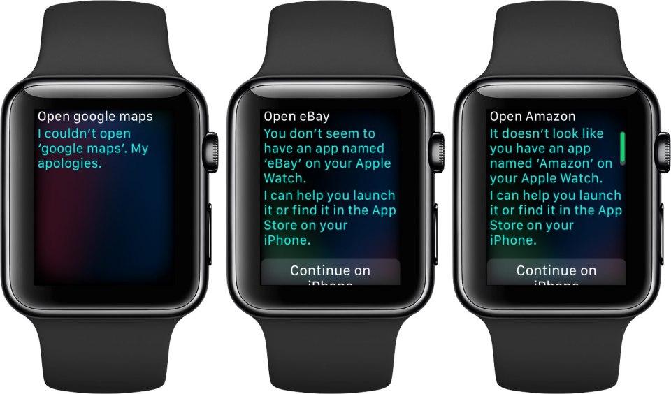 Google không hỗ trợ Apple Watch trong ứng dụng Maps