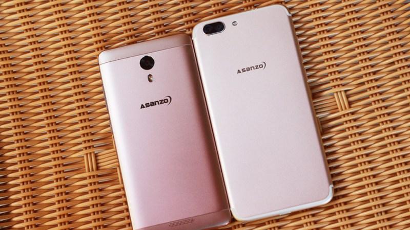 Thương hiệu Việt Asanzo vừa trình làng bộ đôi smartphone giá rẻ
