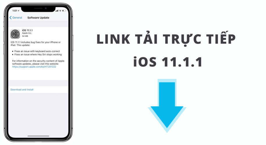 (Download) Link tải trực tiếp IPSW iOS 11.1.1 cho iPhone, iPad, iPod touch