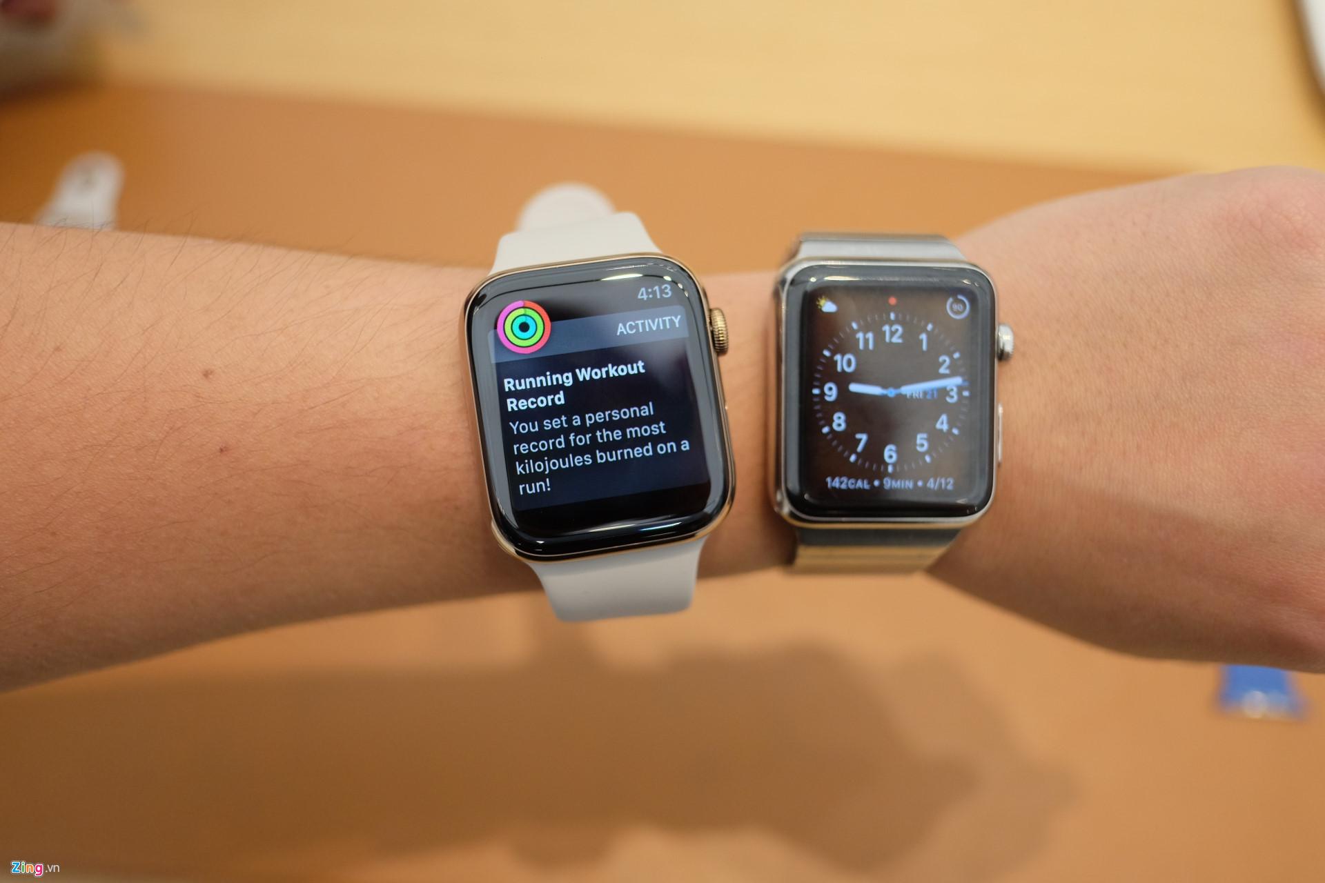 Apple Watch Series 4 cháy hàng, muốn mua cũng không dễ có liền