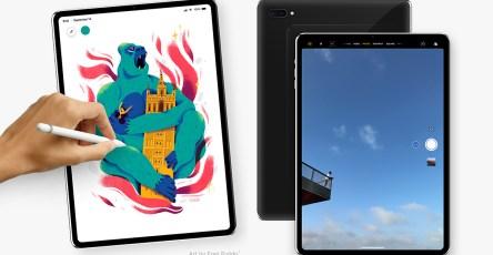 iPad Pro 2018 (bản phát thảo)