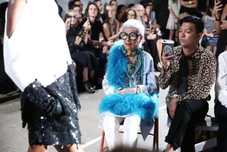 تعرف إلى عارضة الأزياء البالغة من العمر 97 عاماً
