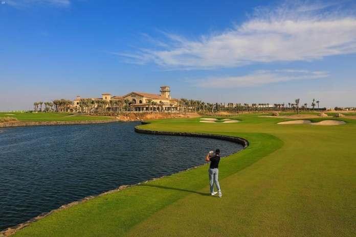 In Saudi Arabia ... hosting the first professional women's golf tournament with the participation of international players